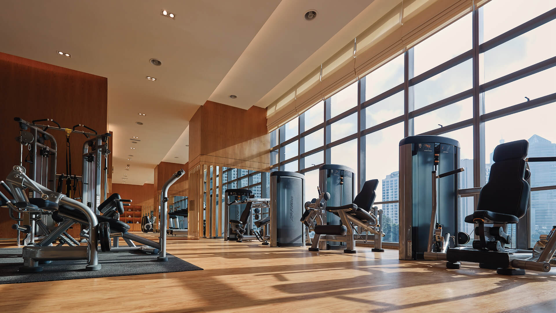 Gym with Training Studio